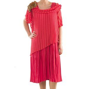 Separable Jersey Dress - Plus Size Clothing